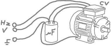 conversione motore trifase monofase